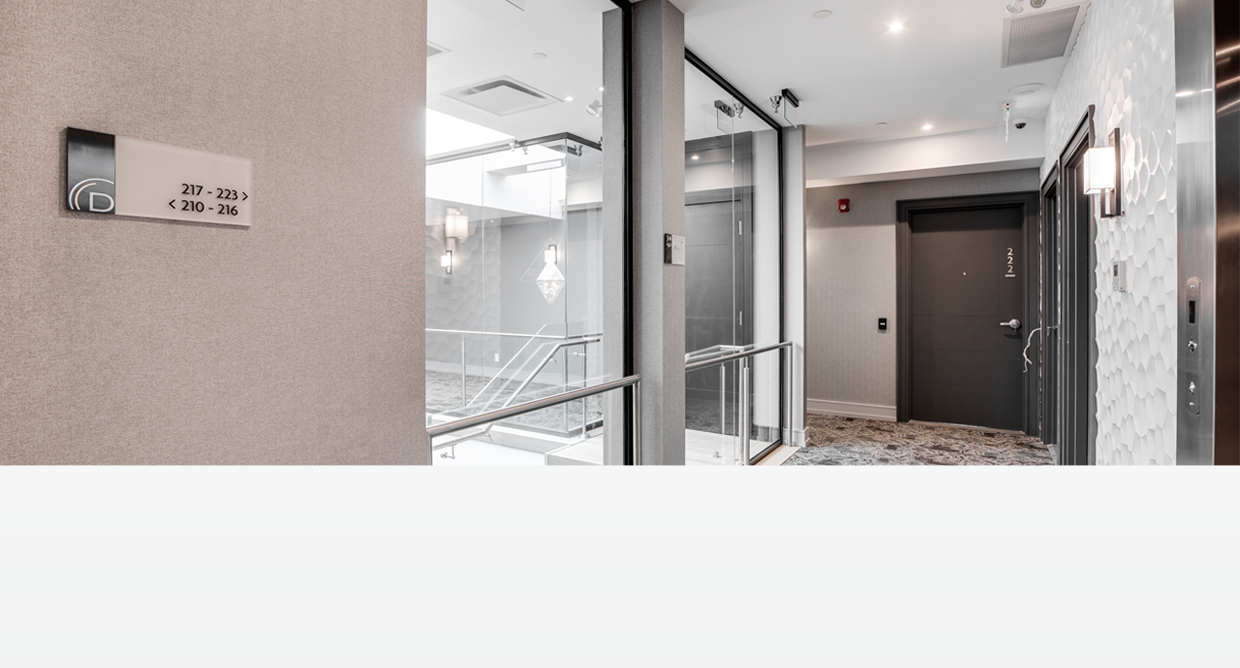 Dream Suites @ YYZ Header - Hallway