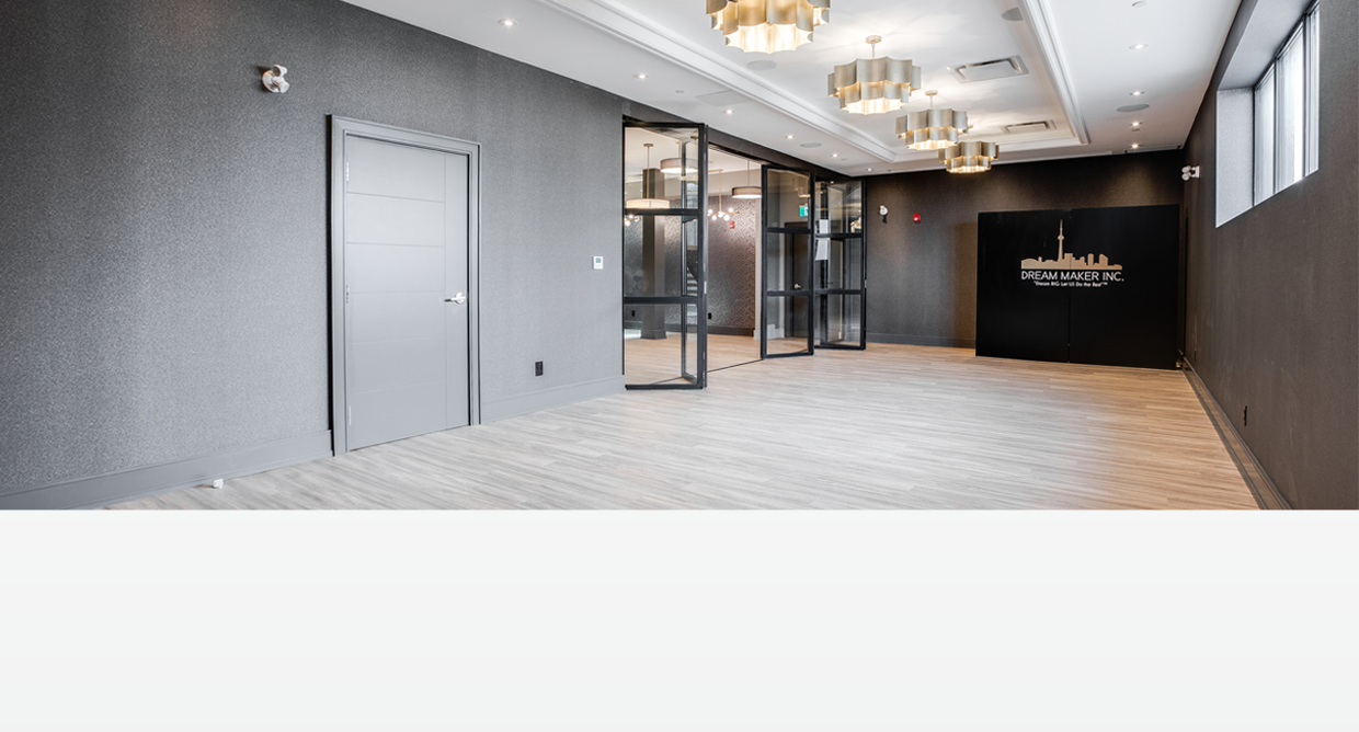 Dream Suites @ YYZ Header - Event Space