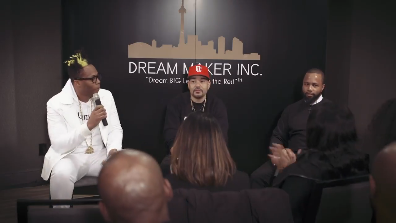 Dream Talks & Wine & Cheese Event - Featuring DJ Envy
